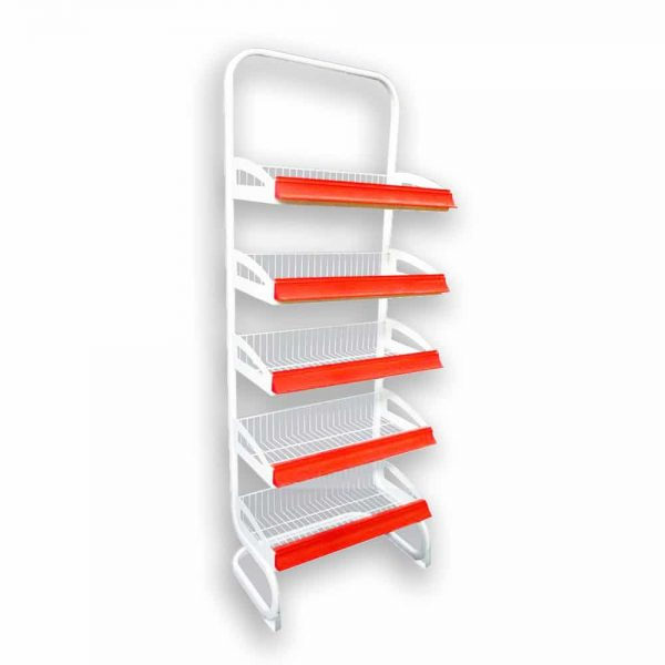 مشخصات ، قیمت و خرید استند فلزی فروشگاهی   فروشگاه اینترنتی پرشین صنعت آسیا