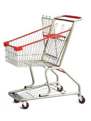 از ترولی برای جا به جایی راحت اجسام در فروشگاه استفاده می شود. جهت خرید ترولی فروشگاهی طرح A به تجهیزات فروشگاهی پرشین صنعت آسیا مراجعه کنید.