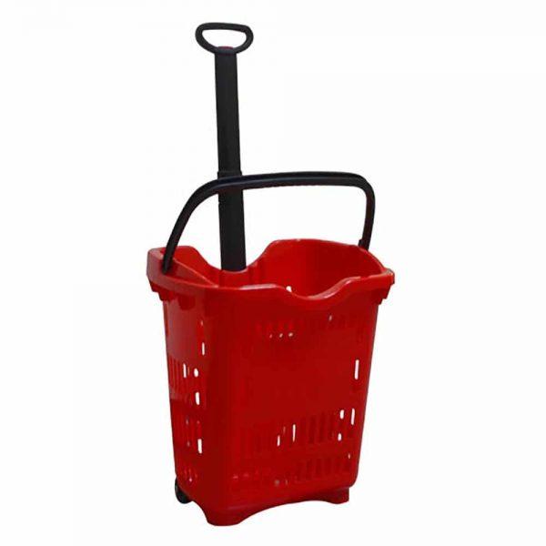 از جمله تجهیزات فروشگاهی که موجب افزایش رضایت مشتریان میشود، سبد پلاستیکی چرخدار دسته تلسکوپی میباشد. انواع سبد در تجهیزات فروشگاهی پرشین صنعت آسیا