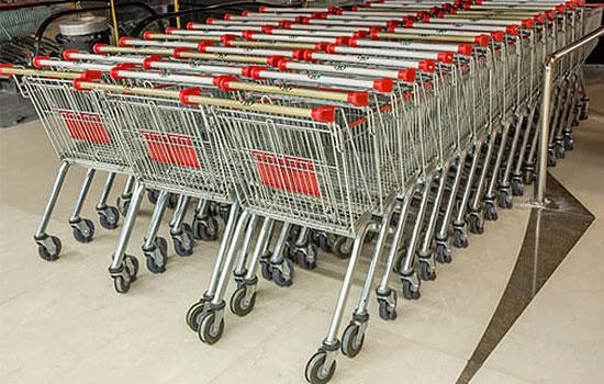 یکی از تجهیزات فروشگاهی مهم که جهت راحتی خرید مشتریان طراحی شده است، چرخ خرید فروشگاهی می باشد. انواع چرخ خرید فروشگاهی در تجهیزات فروشگاهی پرشین صنعت آسیا