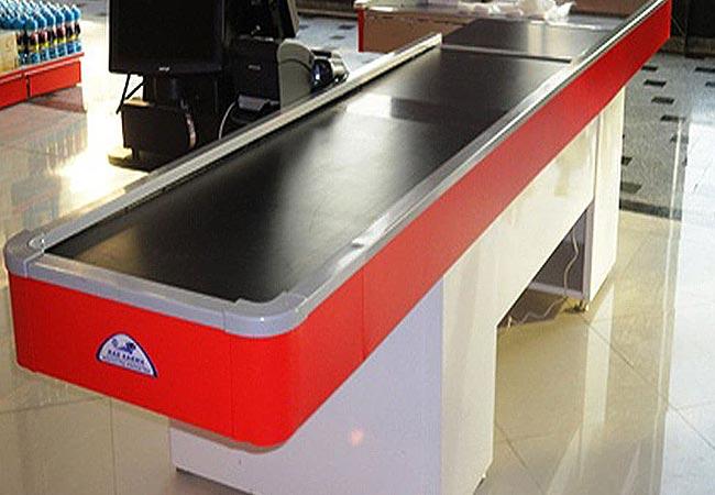 اگر به دنبال میز چک اون دست دوم می گردید، فروشگاه تجهیزات فروشگاهی پرشین صنعت آسیا دارنده انواع میز چک اوت و دیگز تجهیزات فروشگاهی می باشد.