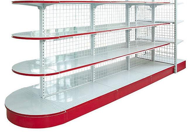 شما می توانید جهت خرید قفسه دو طرفه فروشگاهی ، شلف فروشگاهی و انواع تجهیزات فروشگاهی با قیمت مناسب و کیفیت بالا به تجهیزات فروشگاهی پرشین صنعت آسیا ...