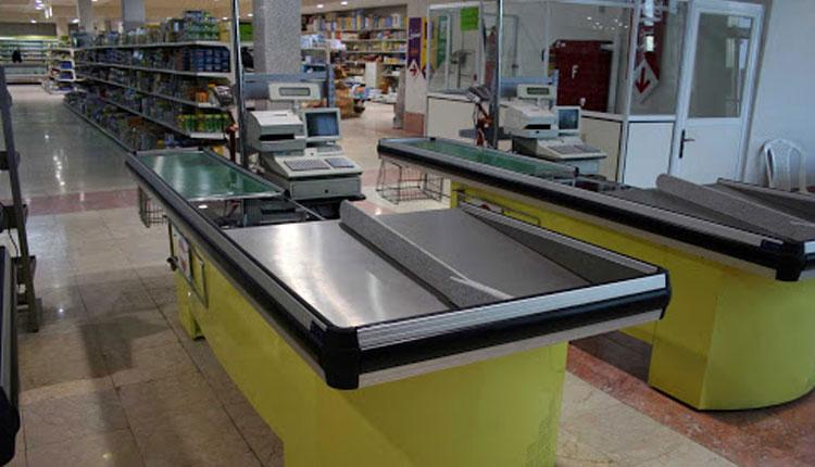 میز چک اوت   انواع میز چک اوت   خرید تجهیزت فروشگاهی و قفسه فروشگاهی در کرج