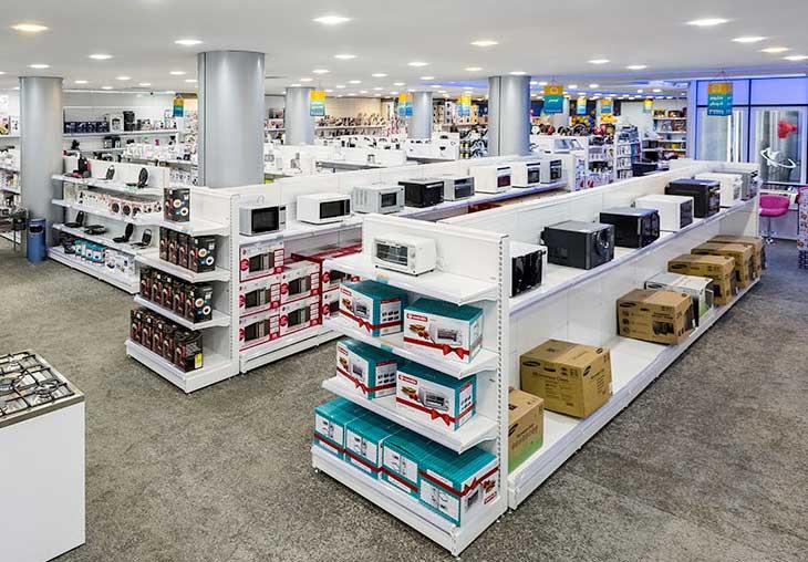شلف فروشگاهی   خرید شلف و قفسه فروشگاهی   تجهیزات فروشگاهی پرشین صنعت آسیا در کرج