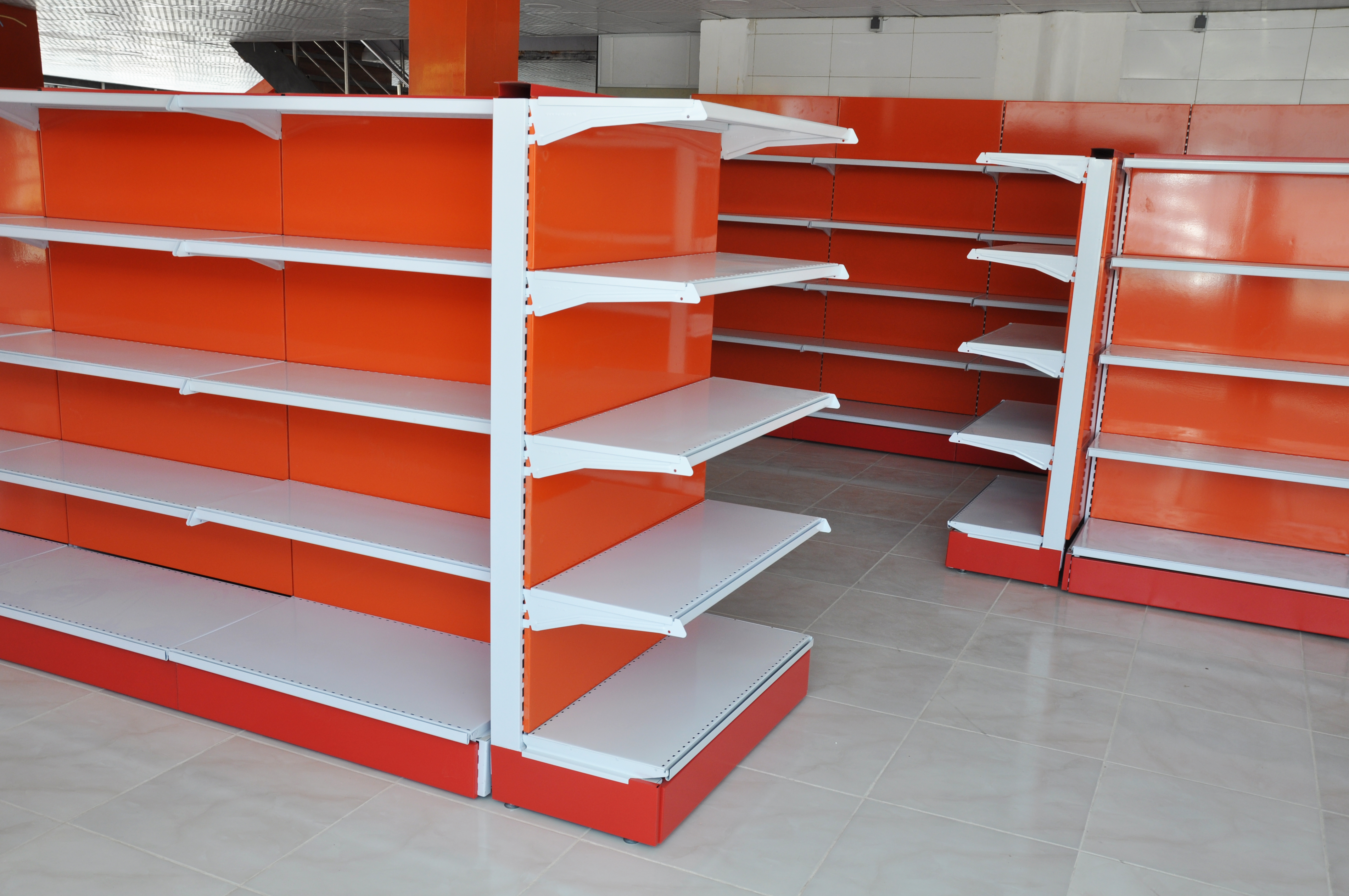 قفسه دو طرفه فروشگاهی   تجهیزات فروشگاهی پرشین صنعت آسیا در کرج
