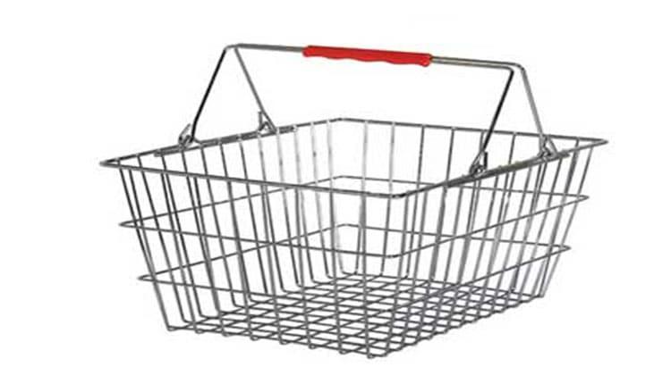 سبد قفسه فلزی فروشگاه