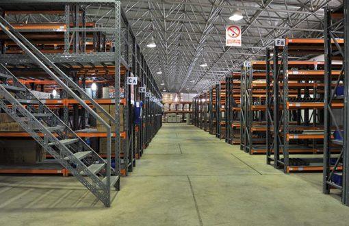 قفسه بندی انبار کارخانه - قیمت تجهیزات فروشگاهی - قفسه های فلزی