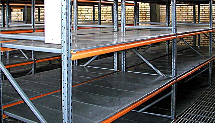 قفسه راک نیمه سنگین - تجهیزات فروشگاهی