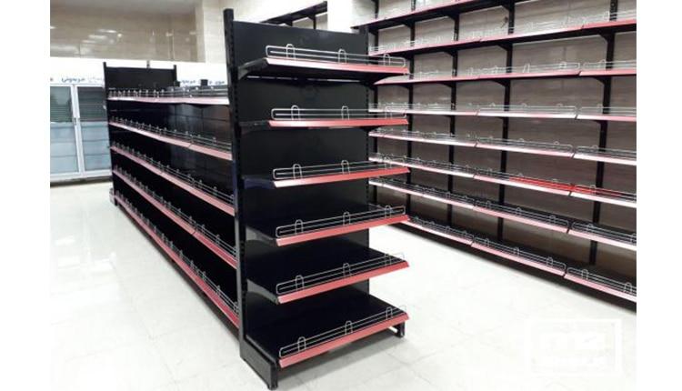 قفسه فلزی ضد زنگ - تجهیزات فروشگاهی